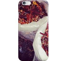 Chillies in Mexico  iPhone Case/Skin