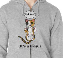Trap Cat (Cailco Cat) Zipped Hoodie