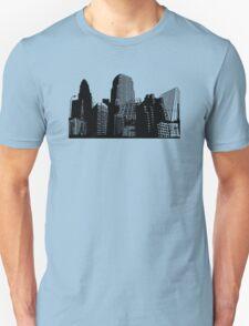 Black Cityscapes T-Shirt