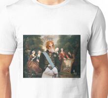 Borzoi - Russian Wolfhound Art Canvas Print - Artist seiling his painting Unisex T-Shirt