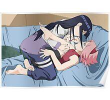 Naruto Hinata and Sakura Poster