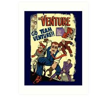 Venture Comics: Team Venture Art Print