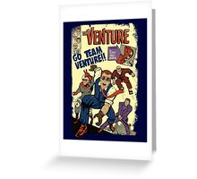 Venture Comics: Team Venture Greeting Card