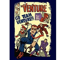 Venture Comics: Team Venture Photographic Print