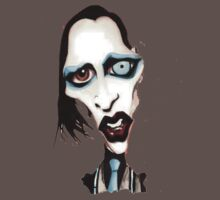 Marilyn Manson Caricature One Piece - Short Sleeve