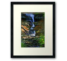 Munising Falls 3 Framed Print