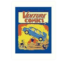 Venture Comics: Brock (first appearance) Art Print