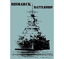 Bismarck Battleship Photographic Print