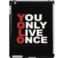 Yolo Items iPad Case/Skin