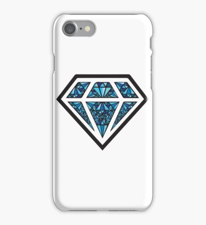 Blue Diamond iPhone Case/Skin