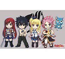 Fairy Tail Friends Chibi Photographic Print