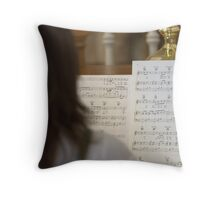 Making Melody Throw Pillow
