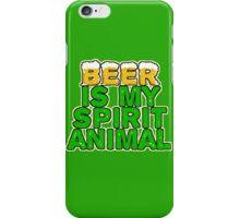 Beer Spirit Animal iPhone Case/Skin