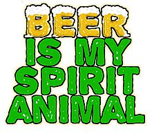 Beer Spirit Animal Photographic Print