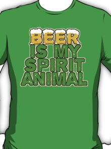 Beer Spirit Animal T-Shirt