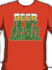 Beer Spirit Animal T-Shirt