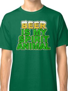 Beer Spirit Animal Classic T-Shirt