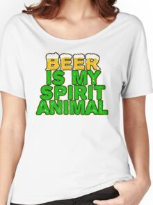 Beer Spirit Animal Women's Relaxed Fit T-Shirt