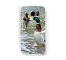 Mallard Flapping His Wings Samsung Galaxy Case/Skin