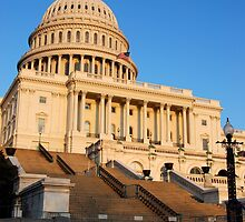 U. S. Capitol West Face >  by John Schneider