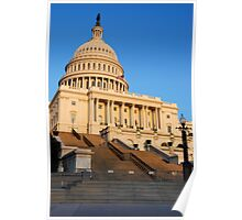 U. S. Capitol West Face >  Poster
