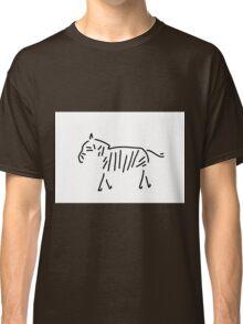 zebra Africa Classic T-Shirt