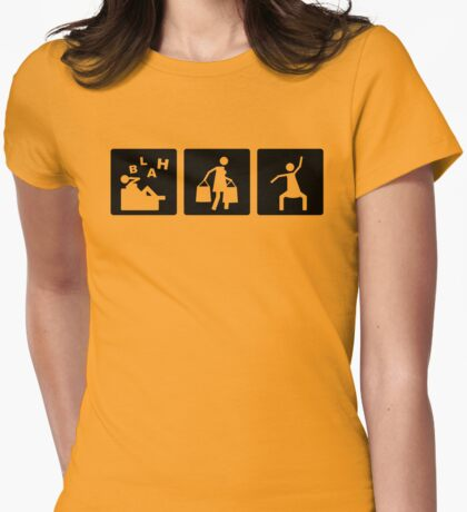 Three Little Pics - Women 2 Womens Fitted T-Shirt