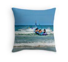 Anglesea SLSC Carnival Jan09 (8) Throw Pillow