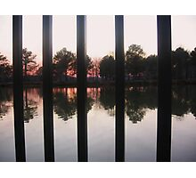 Railings & Reflections Photographic Print