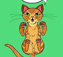 Trap Cat (Orange Tabby Cat) by ErinA2