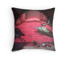 Valentine's Touch! Throw Pillow