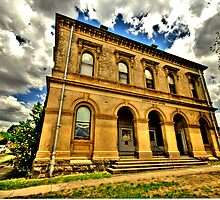 Relic of a Golden Age - Clunes, Victoria Australia - The HDR Experience by Philip Johnson