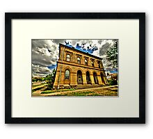 Relic of a Golden Age - Clunes, Victoria Australia - The HDR Experience Framed Print