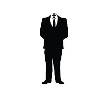 Anonymous (Headless Man) by tshirtdesign