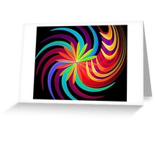 Blossom Swirl Greeting Card