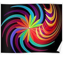 Blossom Swirl Poster