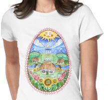 Pysanka Easter Womens Fitted T-Shirt