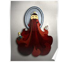 Portrait - Red Beard Poster