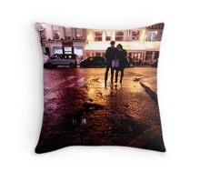 In Paris, in love Throw Pillow