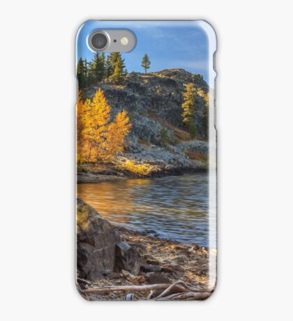 Last Light On Taylor Lake iPhone Case/Skin