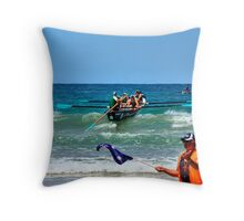 Anglesea SLSC Carnival Jan09 (12) Throw Pillow