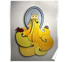 Portrait - Yellow Beard Poster