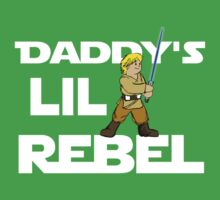 Daddy's Lil Rebel Kids Tee