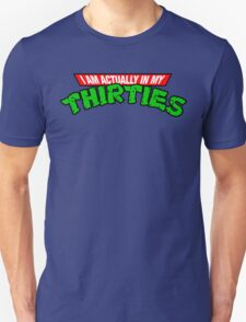 TMNT 30's Old Man T-Shirt T-Shirt