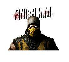 Mortal Kombat X - Finish Him Photographic Print