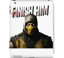 Mortal Kombat X - Finish Him iPad Case/Skin