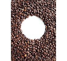 Coffee Beans Photograph (Coffee Shop) Photographic Print