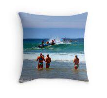 Anglesea SLSC Carnival Jan09 (13) Throw Pillow