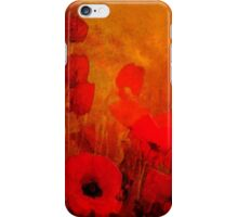 Poppy heaven'... iPhone Case/Skin