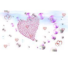 Love Is....what you make it! Photographic Print